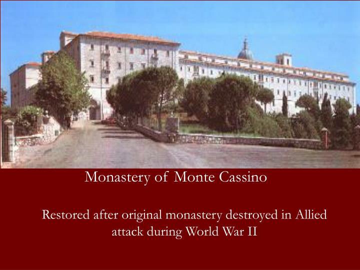 Monastery of Monte Cassino