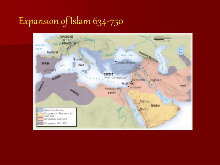 Expansion of Islam 634-750