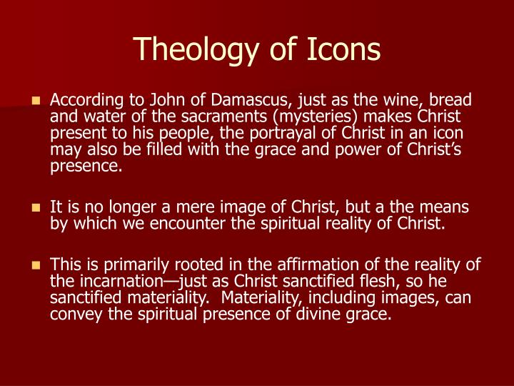 Theology of Icons