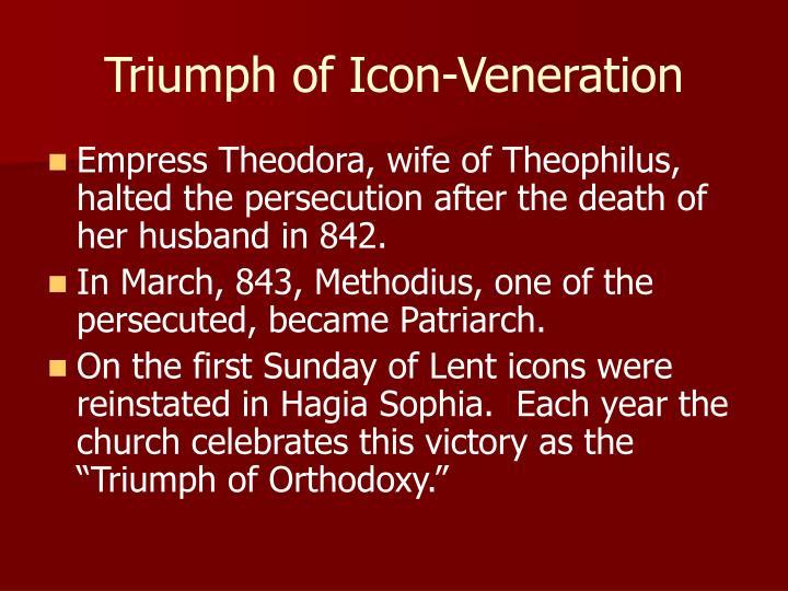 Triumph of Icon-Veneration