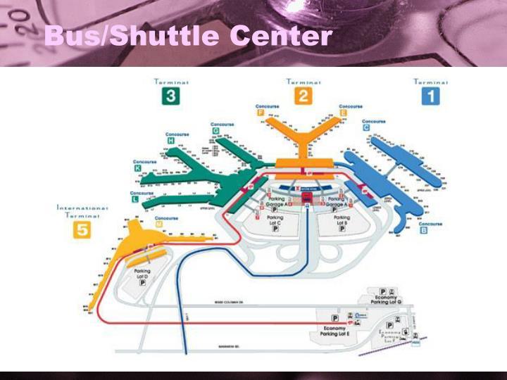 Bus/Shuttle Center