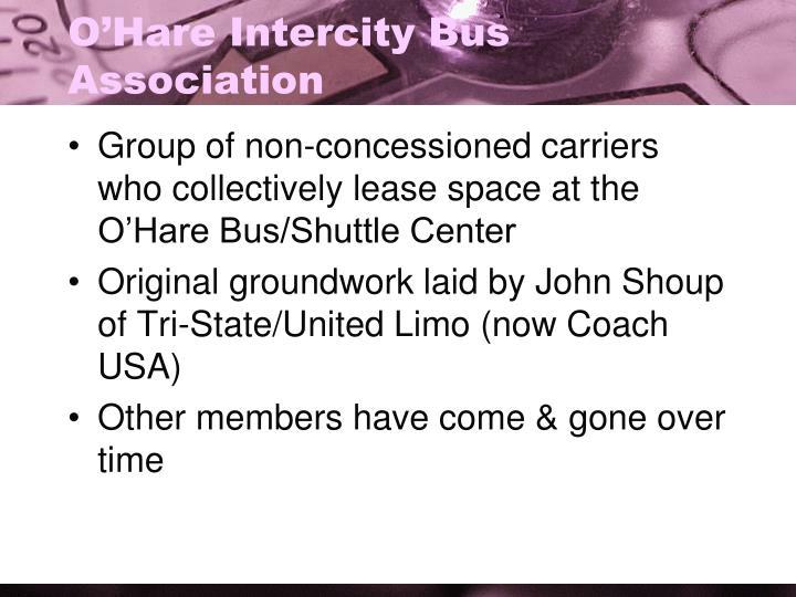 O'Hare Intercity Bus Association