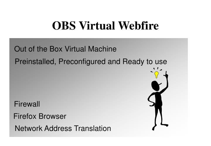 OBS Virtual Webfire