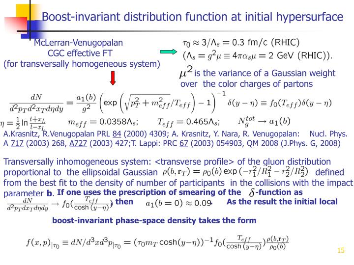 Boost-invariant