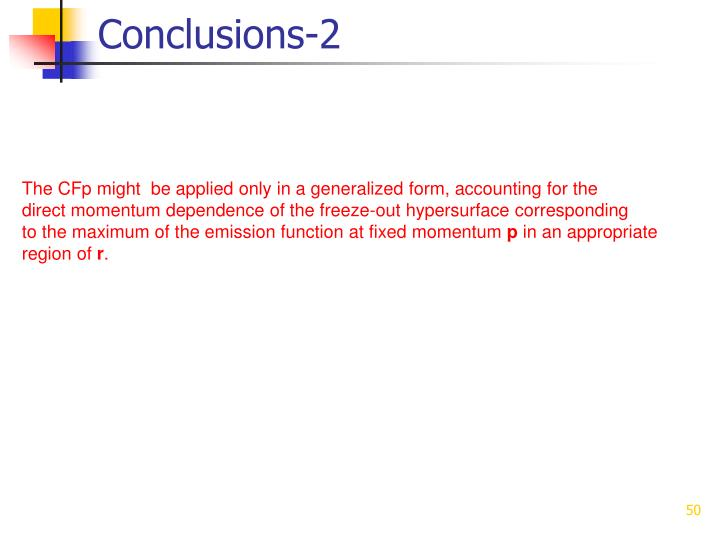 Conclusions-2