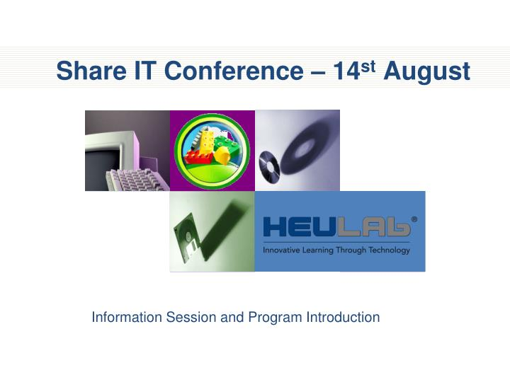 share it conference 14 st august