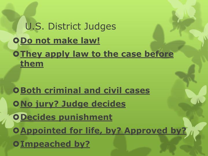 U.S. District Judges