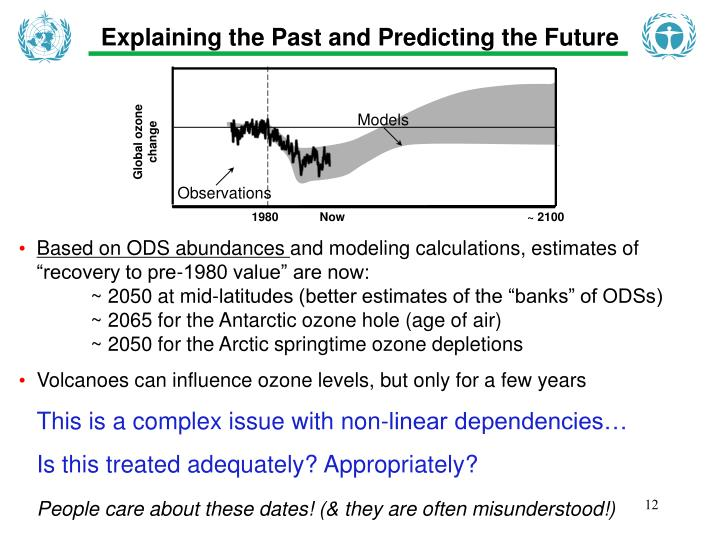 Explaining the Past and Predicting the Future