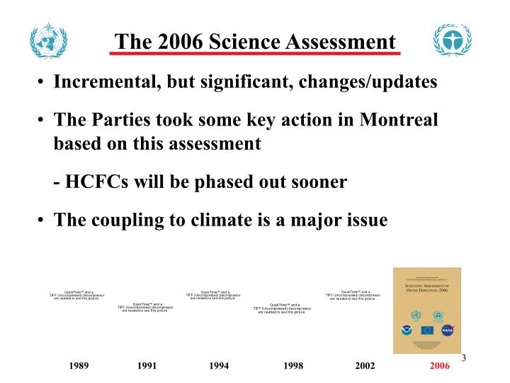 The 2006 Science Assessment