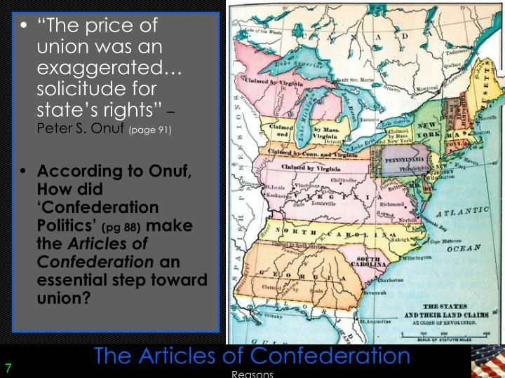 an analysis of the internal problems under the articles of confederation A summary of article 12 in the founding or section of the articles of confederation (1781-1789) and accrued and money borrowed under the authority of the.