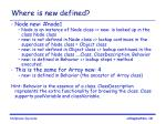 where is new defined