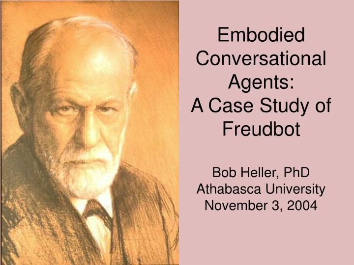 Embodied Conversational Agents: