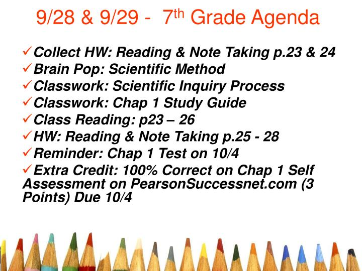 ppt 9 28 9 29 7 th grade agenda powerpoint presentation id rh slideserve com chapter 29 section 5 notetaking study guide answers chapter 29 section 5 notetaking study guide answers