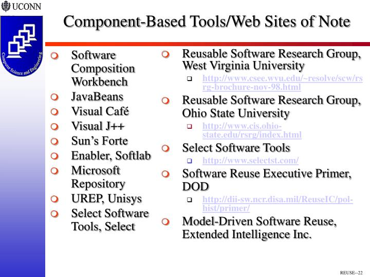 Software Composition Workbench