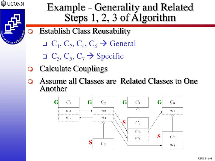 Example - Generality and Related