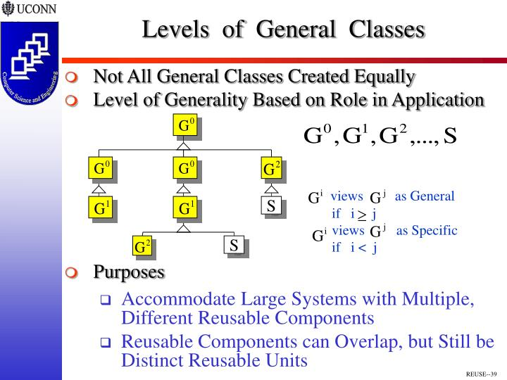 Levels  of  General  Classes