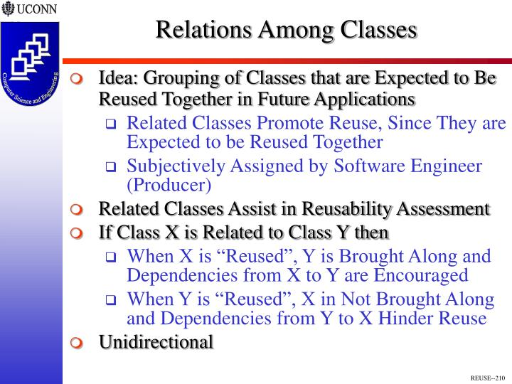 Relations Among Classes