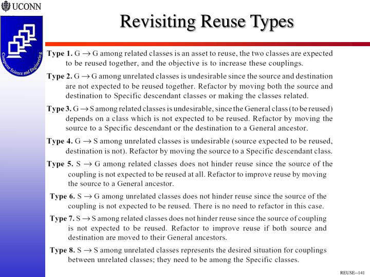 Revisiting Reuse Types