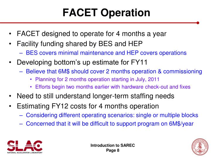 FACET Operation