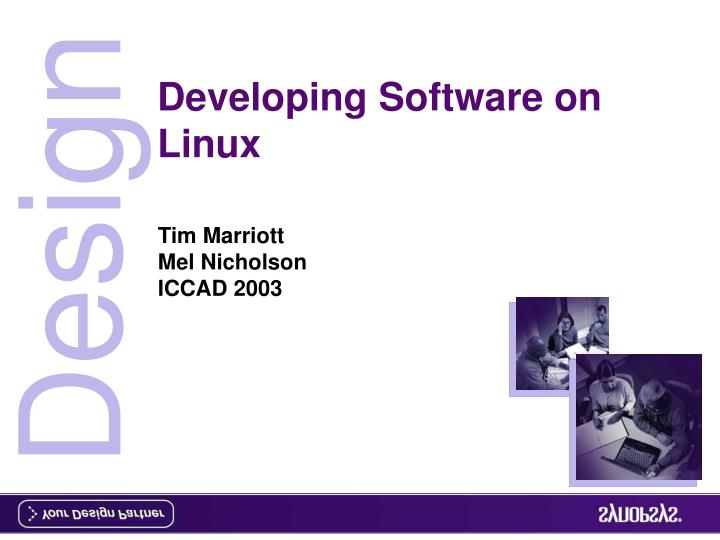 developing software on linux n.
