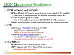 ngn movement worldwide