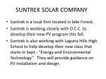 suntrek solar company