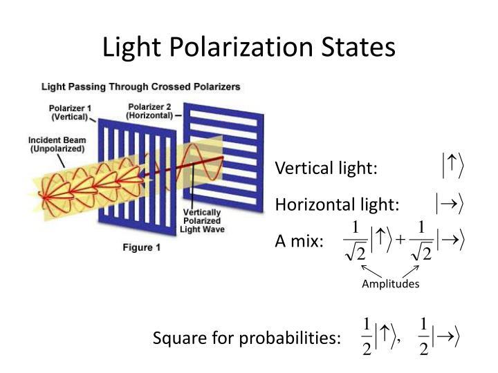 Light Polarization States