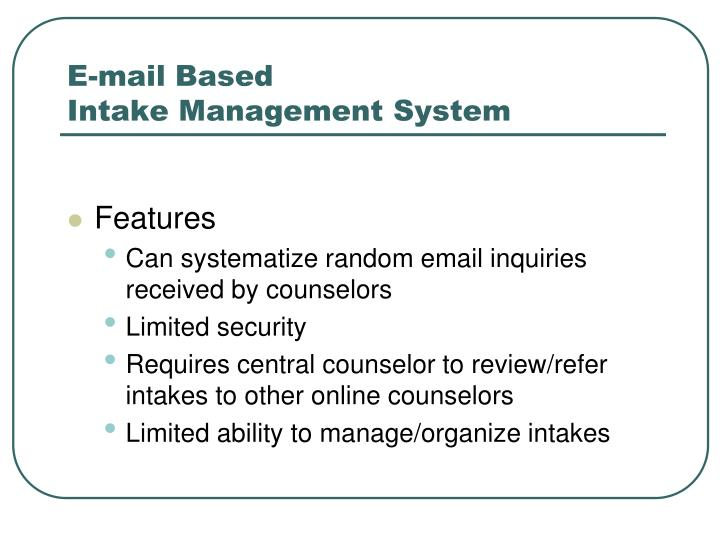 E-mail Based