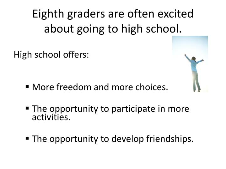 the transition to high school why 3 facilitating the high school-to-college transition for students with psychiatric disabilities: information and strategies for school counselors.