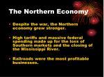 the northern economy