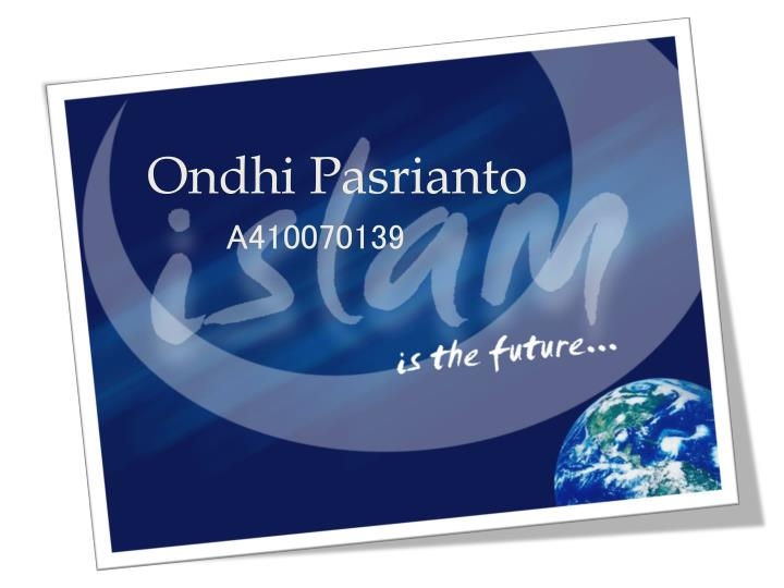 ondhi pasrianto a410070139 n.