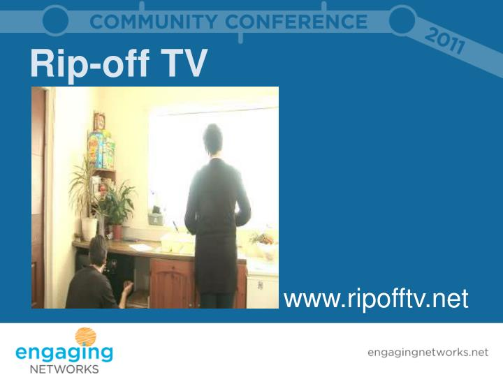 Rip-off TV