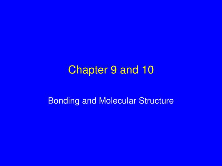 chapter 9 and 10 n.