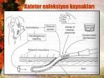 kateter enfeksiyon kaynaklar