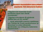 marmara depreminden sonra yabanc yay nlarda t rk doktorlar n ifadeleri