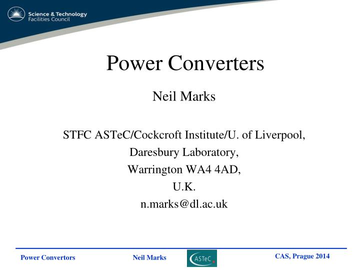 PPT - Power Converters PowerPoint Presentation - ID:4657841