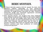 bekr mustafa