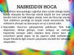 nasredd n hoca