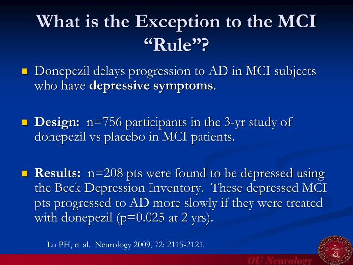 """What is the Exception to the MCI """"Rule""""?"""