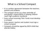 what is a school compact