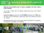 let s do it ukraine 2012 what is it