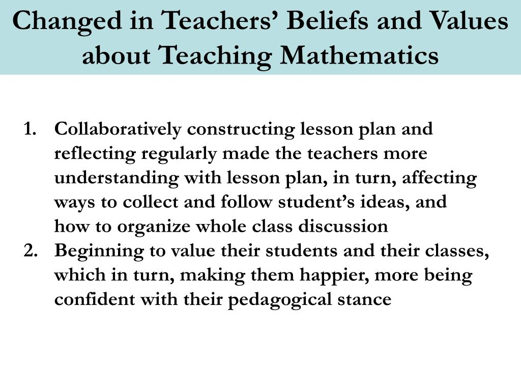 PPT - Contexts for Developing Mathematical Thinking in