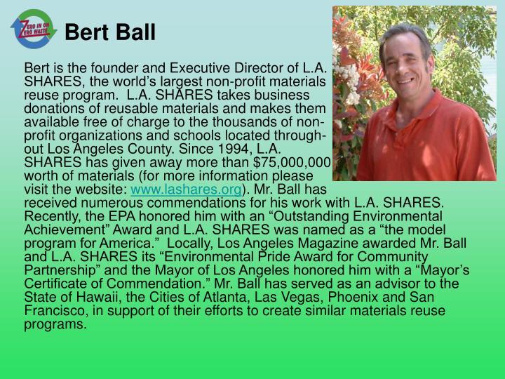 Bert Ball