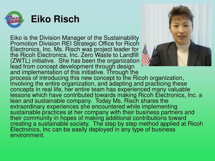 Eiko Risch