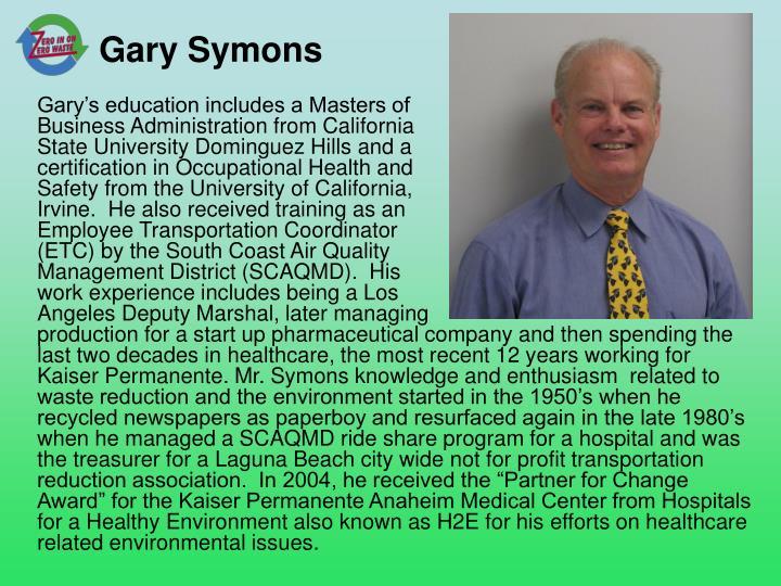 Gary Symons