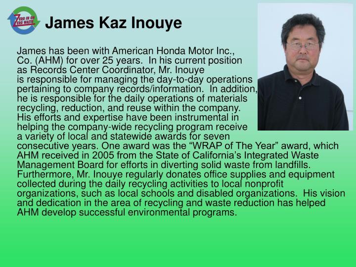 James Kaz Inouye