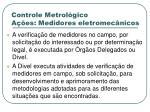 controle metrol gico a es medidores eletromec nicos