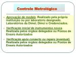 controle metrol gico