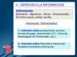 4 derecho a la informaci n