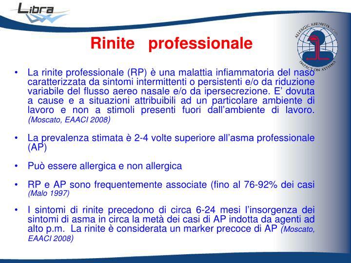Rinite   professionale